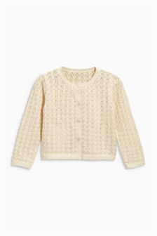 Pointelle Cardigan (3mths-6yrs)