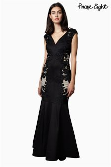 Phase Eight Collection 8 Anne Cutwork Full Length Dress