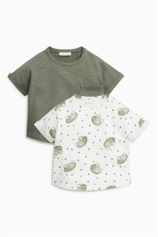 Frog Short Sleeve T-Shirts Two Pack (0mths-2yrs)
