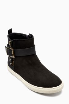 Buckle Ankle Boots (Older Girls)