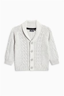Cable Cardigan (3mths-6yrs)