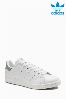 adidas Originals White/Mint Stan Smith