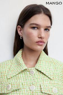 Superdry Soft Pink Nebraska Cable Knit Scarf