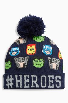 Marvel® Heroes Pom Hat (Older Boys)