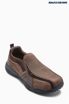 Skechers® Dark Brown Larson Berto Slip-On Shoe