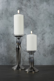 Ombre Glass Candle Stick
