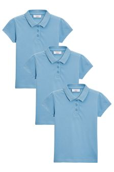 Poloshirts Three Pack (3-16yrs)