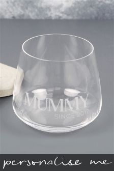Mummy Since Personalised Tumbler By Lisa Angel