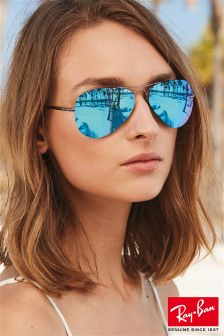 Ray-Ban® Silver Rimless Light Ray Sunglasses