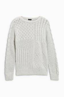 Cable Knit Jumper (3-16yrs)