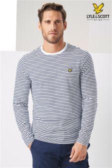 Lyle & Scott Stripe Long Sleeve T-Shirt