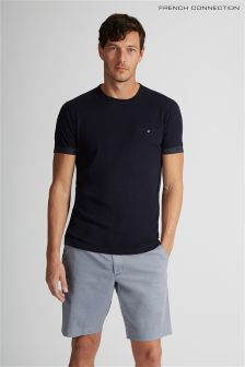 French Connection Blue Chino Short