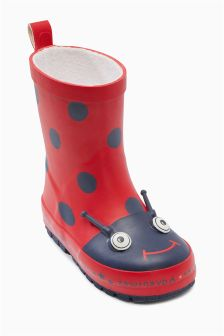 Ladybird Wellies (Younger Girls)
