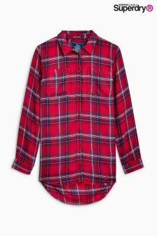 Superdry Red Check Shirt