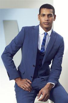 Wool Blend Suit