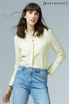 Warehouse Yellow Relaxed Twin Pocket Shirt