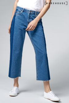 Warehouse Mid Wash Blocked Jean