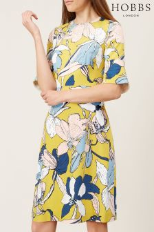Hobbs Yellow Charlie Dress