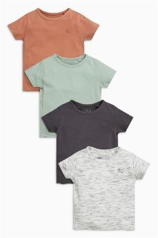 T-Shirt Four Pack (3mths-6yrs)