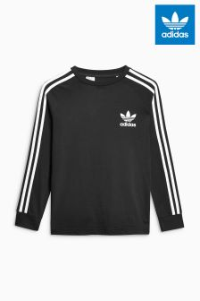 adidas Originals Black Long Sleeved California Tee