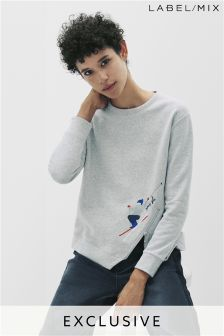 Mix/J.Won Skier Sweatshirt