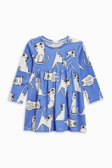 Cat Print Tunic (3mths-6yrs)