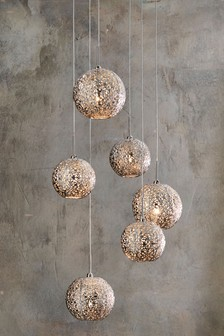 Oriana 6 Light Cluster Pendant