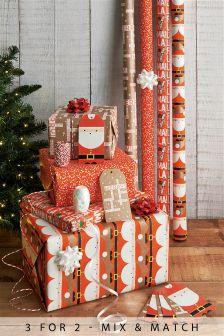 8m Santa Wrap Multi Pack