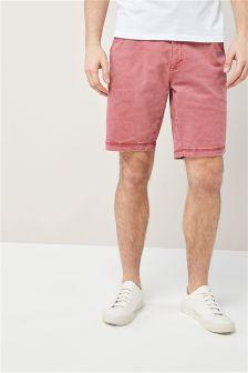 Laundered Chino Shorts