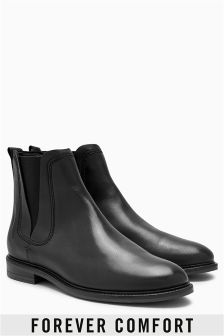 Leather Casual Chelsea Boots