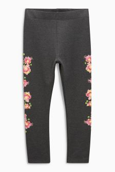Puff Print Floral Leggings (3-16yrs)