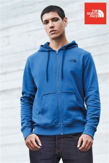The North Face® Shady Blue Open Gate Zip Through Hoody