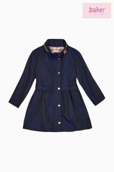 Baker By Ted Baker Navy Coat