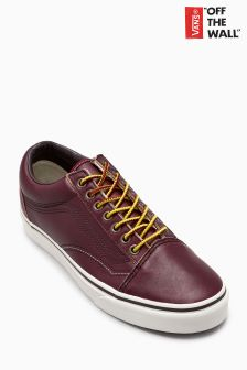 Vans Rum Red Ground Breakers Old Skool