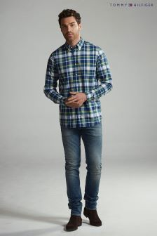Tommy Hilfiger Blue Ifan Check Shirt