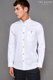 Ted Baker White Stapal Shirt