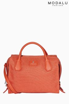 Modalu Orange Willow Triple Compartment Grab