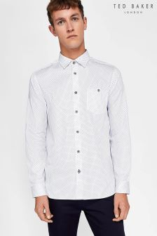 Ted Baker White Skwere Shirt