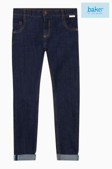 baker by Ted Baker Navy Denim Trouser
