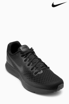 Nike Run Black/Dark Grey Air Zoom Pegasus 34