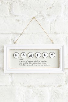 Family Definition Hanging Decoration