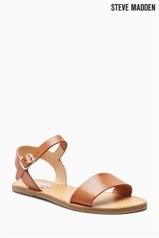 Steve Madden Kondi Tan Leather Sandal