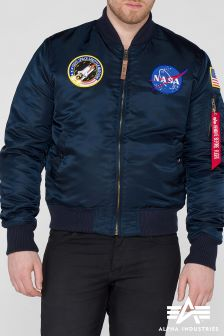 Alpha Navy Ma1 VF NASA Bomber Jacket