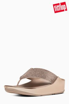 FitFlop™ Rose Gold Crystall