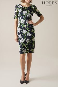 Hobbs Navy Claudia Dress