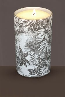 Elderflower And Velvet Woods Pillar Candle