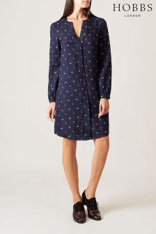 Hobbs Blue Marti Dress