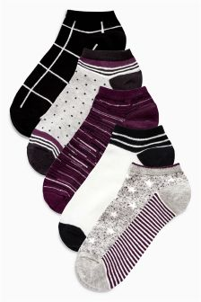 Pattern Trainer Socks Five Pack