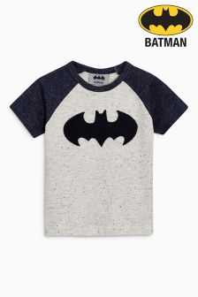 Short Sleeve Textured Batman® T-Shirt (3mths-6yrs)