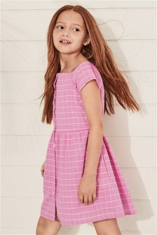 Check Shirt Dress (3-16yrs)